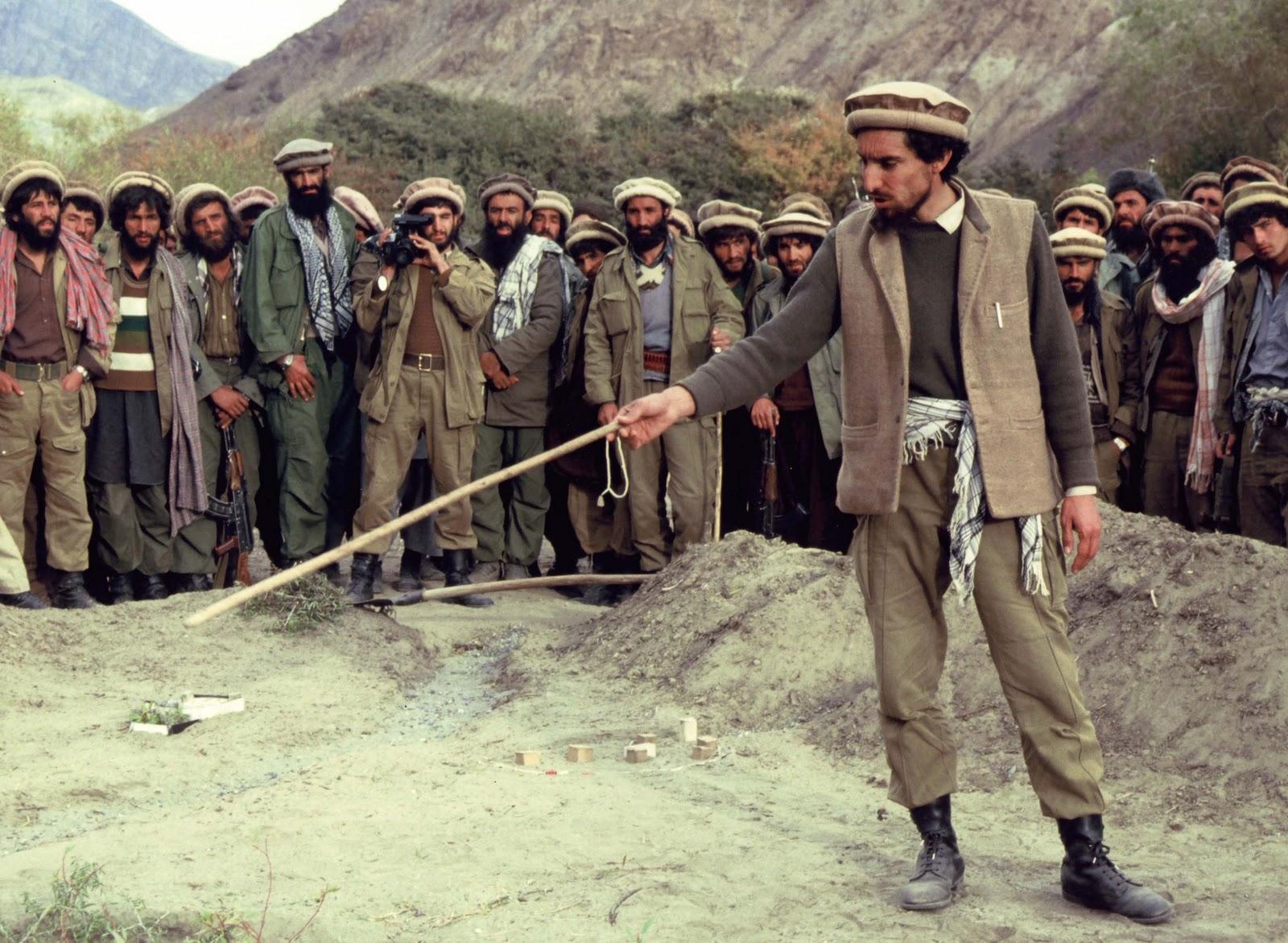 ئهحمهد شا مهسعود (1953 ـ 2001) سهركردهی بهناوبانگی ئهفغانی