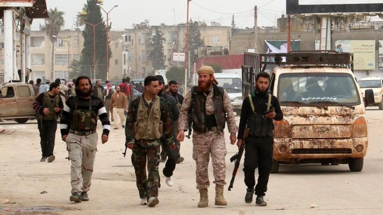 چهكدارهكانی بهرهی نوسره ـ سوریا