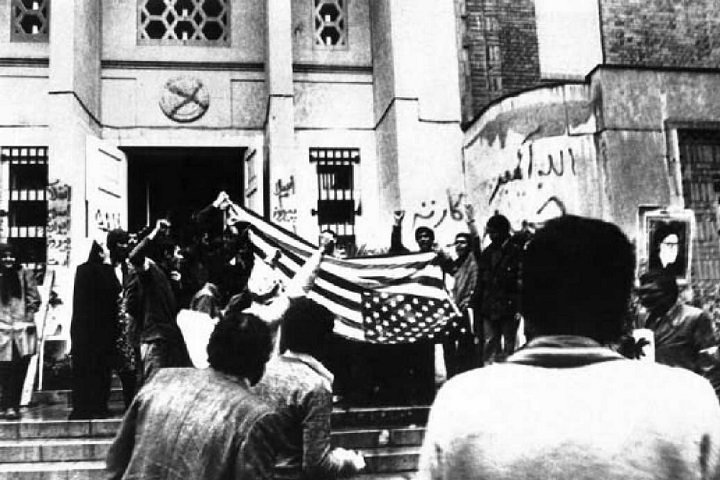 گرتنی باڵوێزخانهی ئهمریكا له تاران ـ 1979