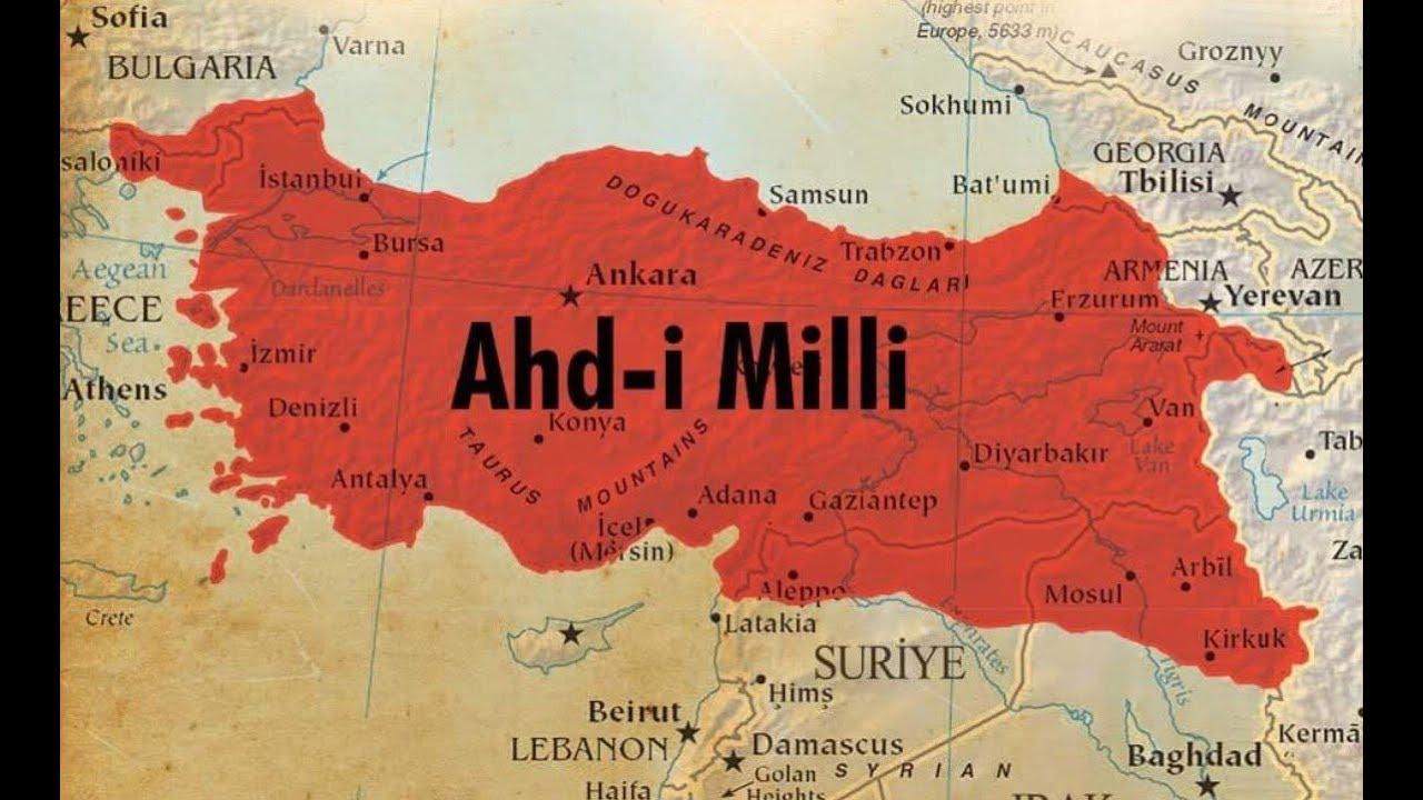 نهخشه تازهكهی توركیا ویلایهتی موسڵ و رۆژاوای كوردستان خستووهته سهر توركیا
